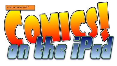 Photo of Next generation comics on the iPad