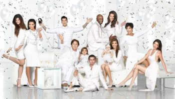 Kardashian Christmas Card 1