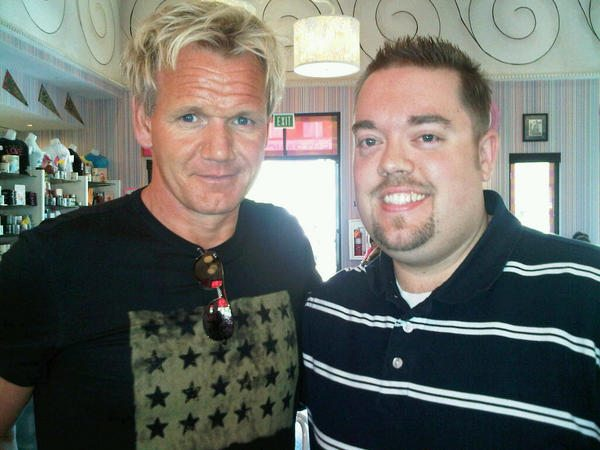 Winner of Hell's Kitchen Christina Wilson Interviewed at Gordon Ramsay Steak Las Vegas 2