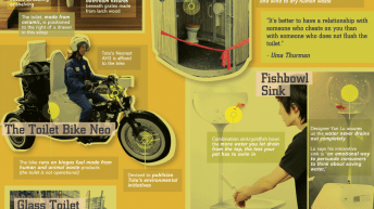 The Past, Present and Future of Toilets [Infographic] 3