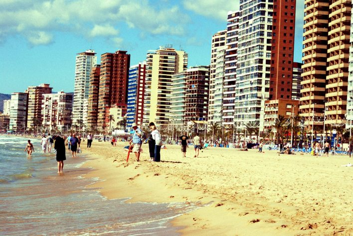 Memories of holiday transfers in Spain - Benidorm