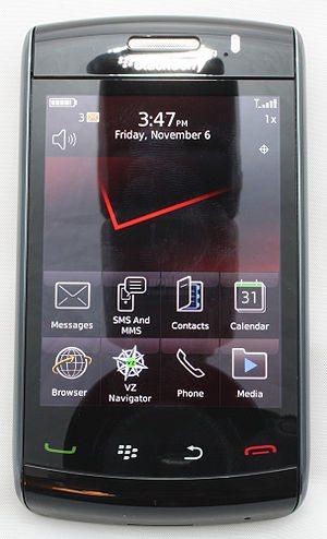 English: RIM BlackBerry Storm 2 9550