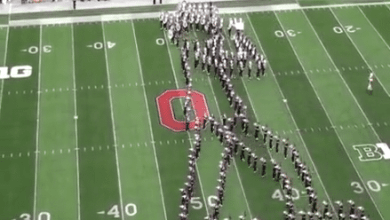 Photo of OSU Marching Band Michael Jackson Tribute