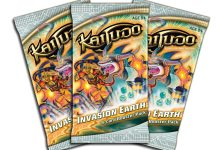 """Photo of New Kaijudo set released today – """"Invasion Earth"""""""