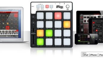 IK Multimedia announces iRig Pads 1