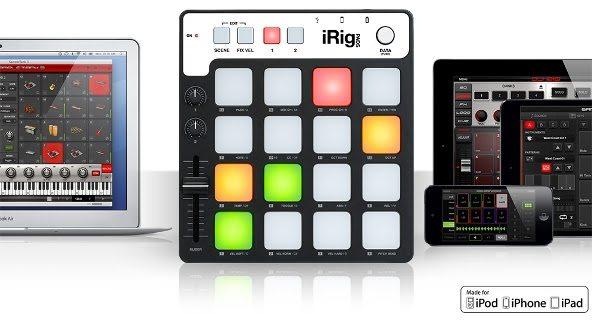 IK Multimedia announces iRig Pads 1