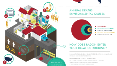 Photo of Radon Facts And Figures [Infographic]