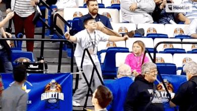 "Photo of Peyton ""Peanut"" Henderson Bustin' Moves For Kentucky"