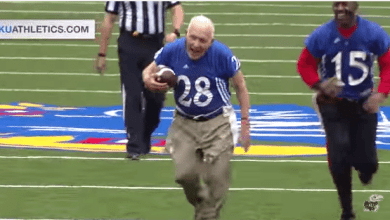 Photo of University of Kansas Alumni Football Game [Must Watch]