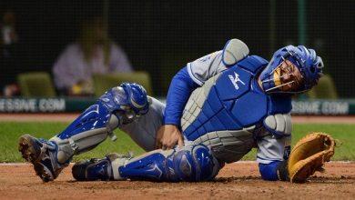 Photo of Catcher Drills Batter [That's Gonna Hurt]