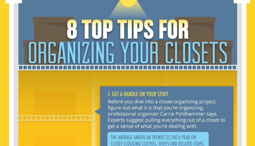 Organize Your Closet Like The Professionals Do! 1