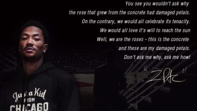 Photo of A Rose From Concrete [Derrick Rose and 2Pac]