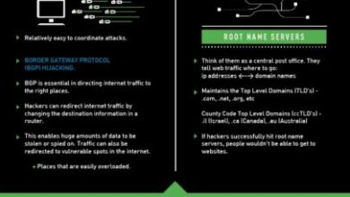 Photo of Sharks And Hackers Both Threaten The Internet [Infographic]