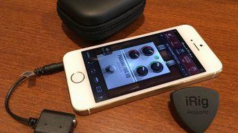 First look: IK Multimedia iRig Acoustic and Amplitube Acoustic 1