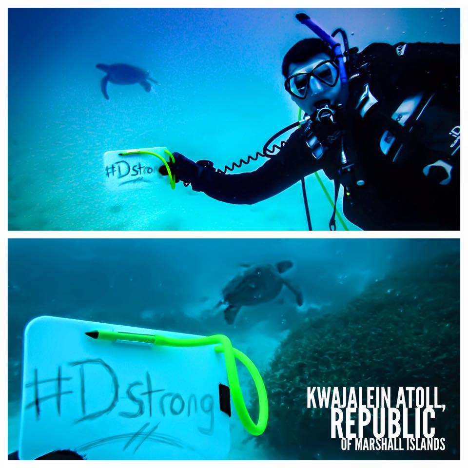 Diving for Dorian