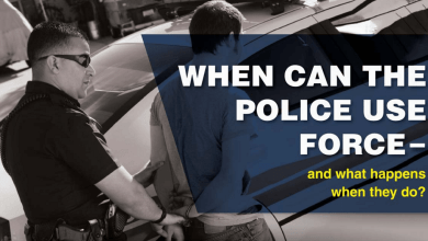 Photo of When Is Police Use Of Force Justified? [Infographic]