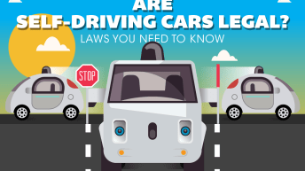 Are You Ready For Driverless Cars? [Infographic] 1