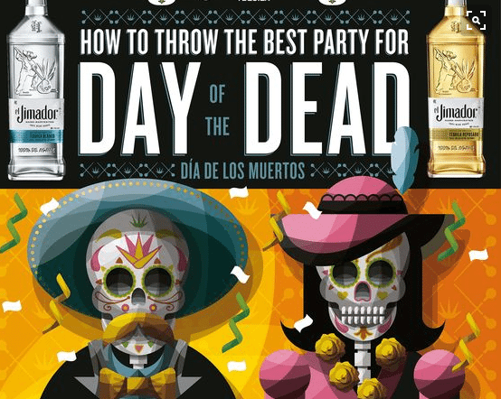 Photo of Celebrate Day Of The Dead! [Infographic]