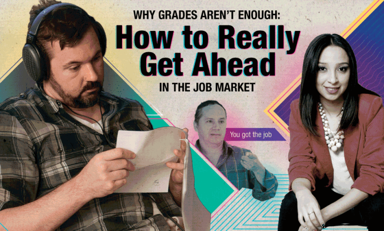 Photo of Grades Will Only Get You In The Door [Infographic]