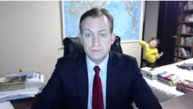 Photo of BBC Interview Interrupted In the BEST Way