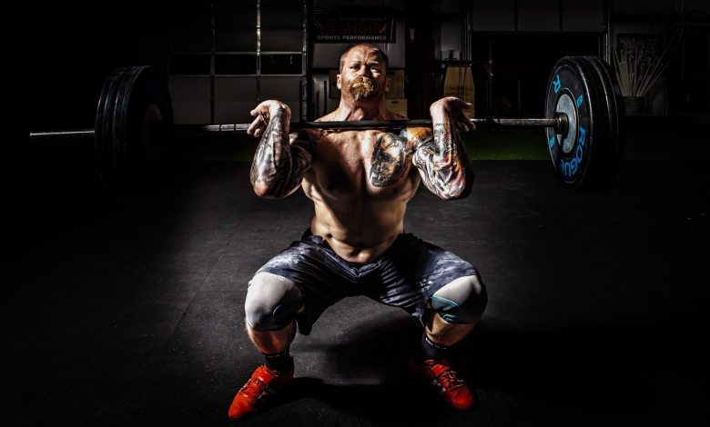 male bodybuilding