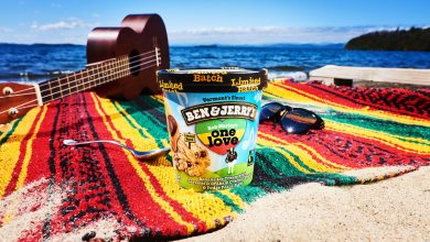 Photo of Ben & Jerry's Celebrates Bob Marley's Legacy with One Love Flavor