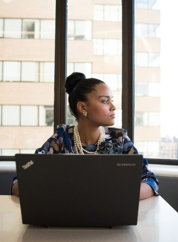 Women of Color in Tech stock image