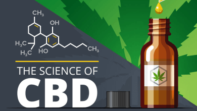 Photo of The Science Of CBD Oil [Infographic]
