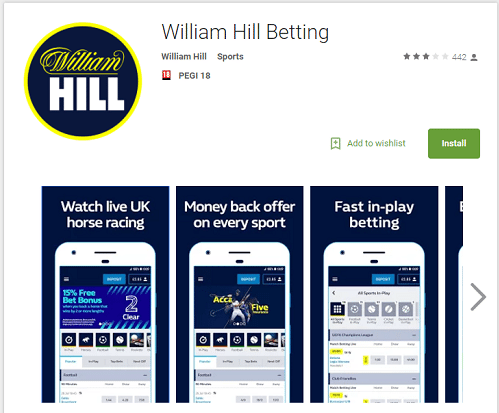 How You Can Earn Using The William Hill App 1