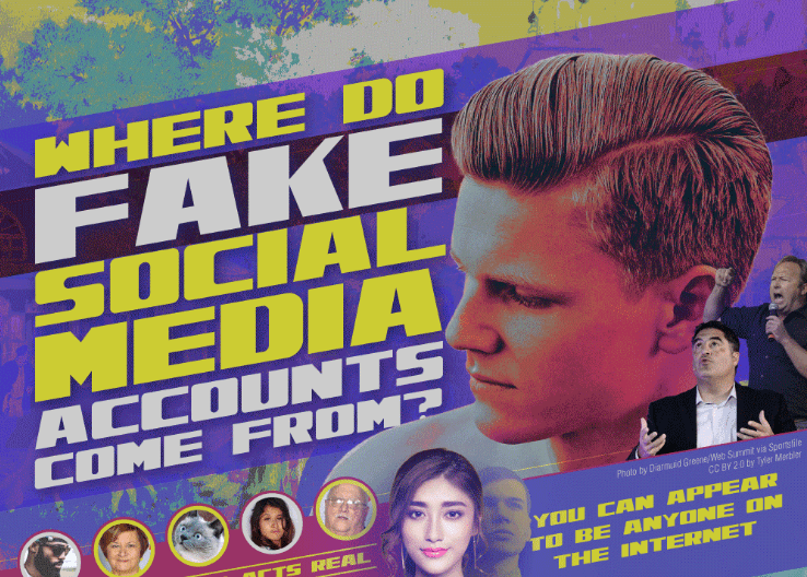 Where Do Fake Social Media Accounts Come From? [Infographic]