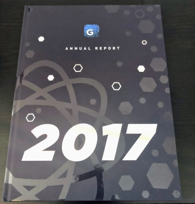 Gyroscope Annual Report (video + unboxing) 3