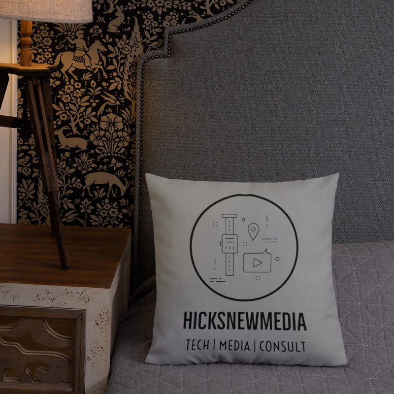 HNM Logo Premium Pillow (18x18) 1