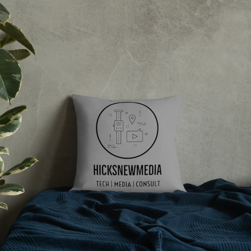 HNM Logo Premium Pillow (18x18) 5