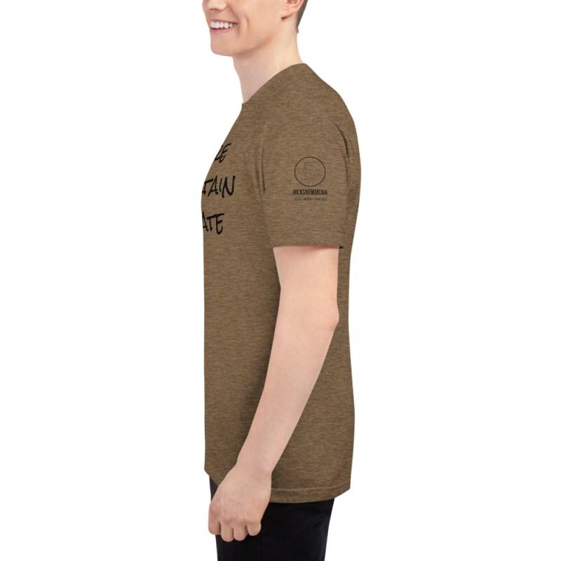 Inspire | Entertain | Educate Unisex Tri-Blend Track Shirt 6