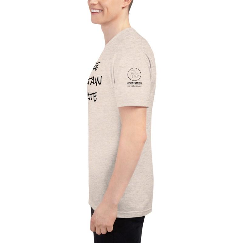 Inspire | Entertain | Educate Unisex Tri-Blend Track Shirt 11