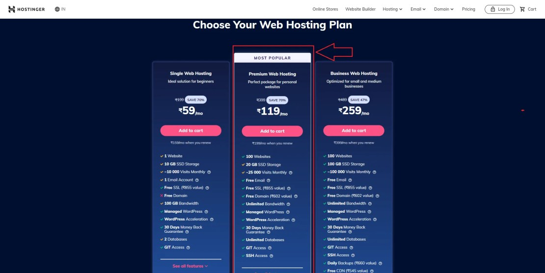 Steps For Buy Domain and Hosting