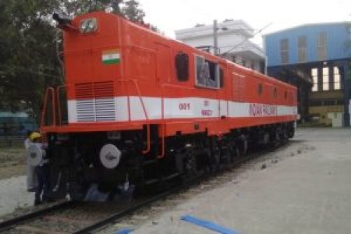 diesel to locomotive engine inaugurated in India