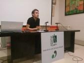 El portavoz del colectivo, Marc Serra, presentó