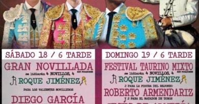 Festival mixto y novillada sin picadores en Abrucena