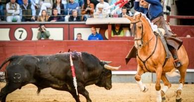 Oreja de peso para Galán y otra corta Andy Cartagena en la primera de rejones de San Isidro