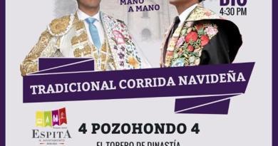 Cerrado el cartel de la tradicional corrida navideña en Espita