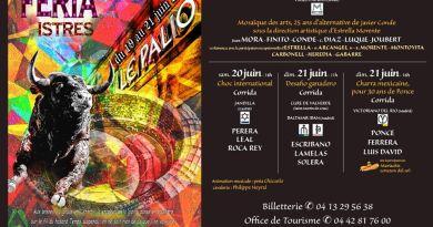Istres presenta su Feria Taurina 2020