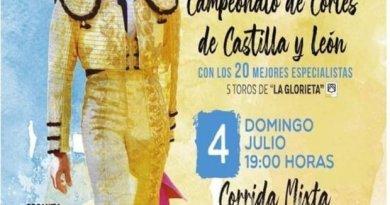 Corrida de toros mixta y campeonato de cortes en Fuentesaúco