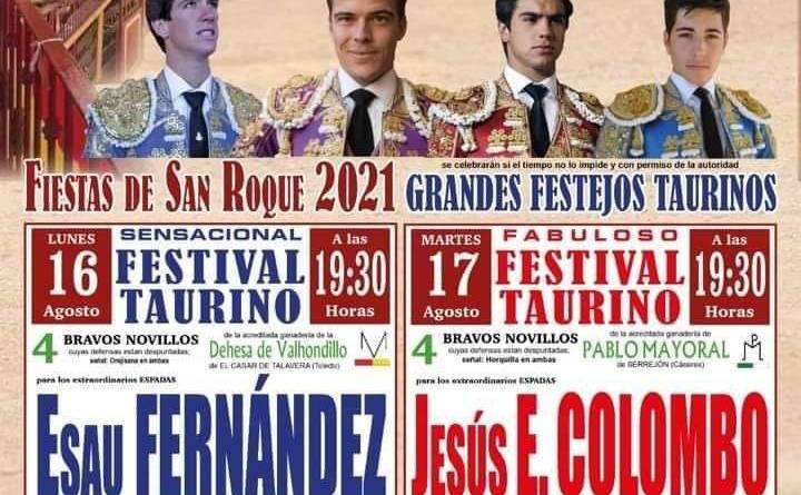 Dos festivales taurinos en Pedro Bernardo
