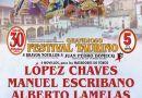 Manuel Escribano da por terminada su temporada en España en el festival de Dos Torres