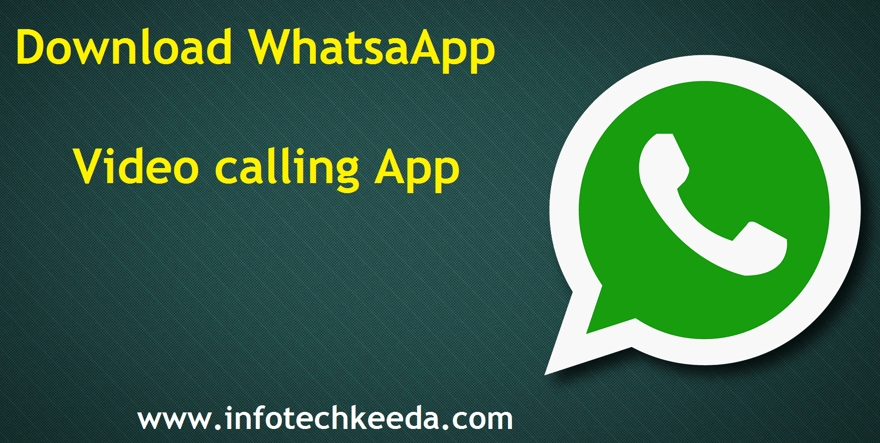 Whatsapp Video calling app download and also become beta