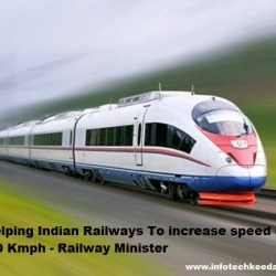 Apple Helping Indian Railways To increase speed of trains up to 600 Kmph - Railway Minister-IT KEEDA