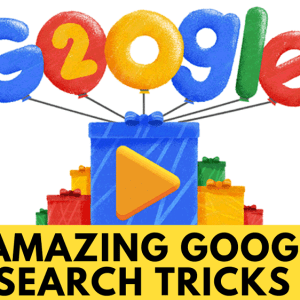 Amazing Google Search Tricks
