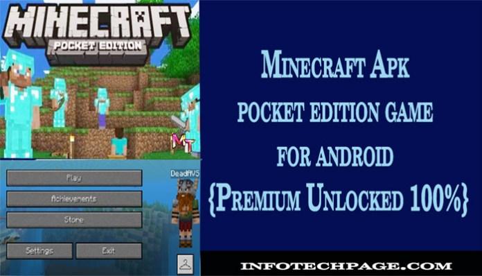 Minecraft Apk pocket edition