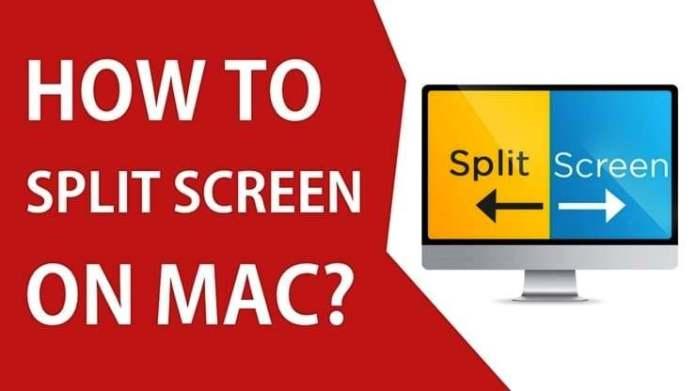 how to split screen on mac